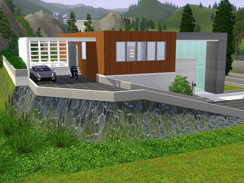 Gox35 39 s modern hill house for Modern house on hill