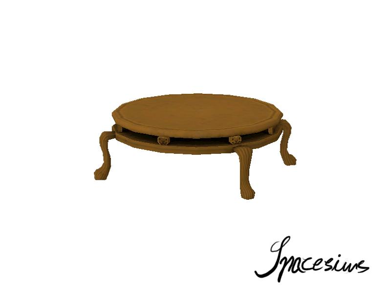 Spacesims 39 Rococo Living Room Coffee Table