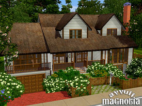 Sims 3 — Magnolia -Furnished- by ayyuff — 30x30 fully furnished and decorated house.. It has: Basement: 1 garage,1