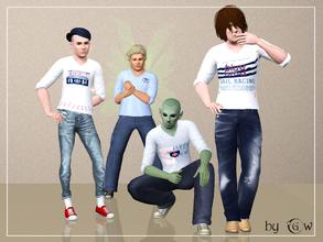 Sims 3 — am top tshirt stencils_by GW by Gvendolin2 — Luxury Private Yacht Club T-shirts for your Sims! Specifically for