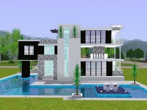 Free sims 3 lots 39 modern house 39 - The sims 3 case moderne ...