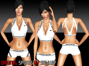 Sims 3 — Original Sports  by saliwa — Original and quality athletic clothing for your sims. Comes as an outfit to you.