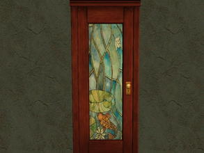 Sims 2 — Door Glass Recolors - 8 by zaligelover2 — Recolor for glass only of base game door.