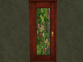 Sims 2 — Door Glass Recolors - 4 by zaligelover2 — Recolor for glass only of base game door.