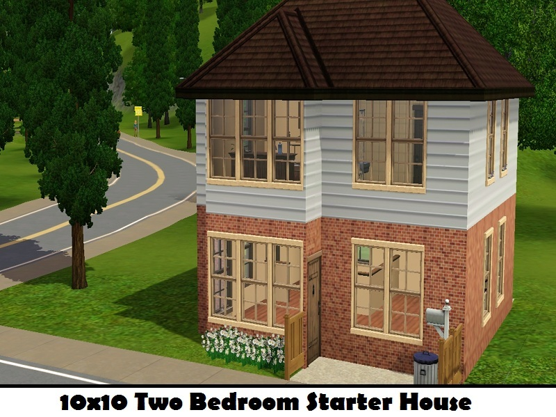 MahalaFs 10x10 2 Bedroom Starter House