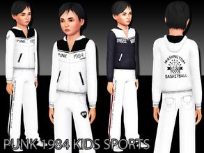 Sims 3 — Kids Sports Top by saliwa — Special Design for sim boys. Comes you as everyday, sleepwear and athletic