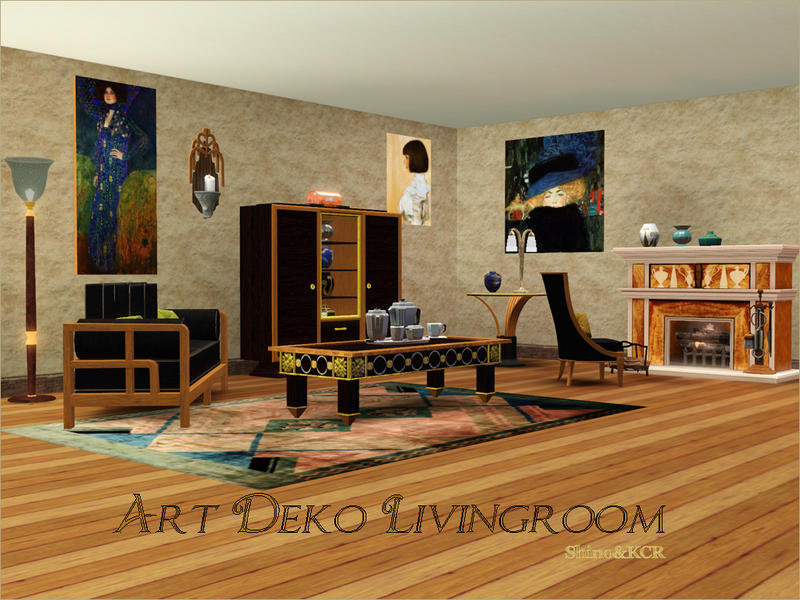 Shinokcr S Art Deco Living