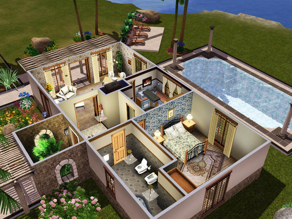 Casas Por Dentro De Los Sims 3