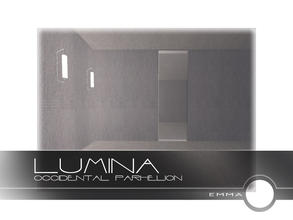 Sims 2 — Lumina Doors and Windows - Occidental Parhelion by Emma_O — left seamless window for the Lumina collection.