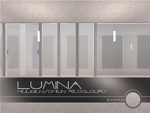 Sims 2 — Lumina: Heiligenschein Recolours by Emma_O — a set of recolours for the Lumina collection.