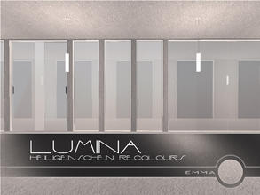 Sims 2 — Lumina: Heiligenschein Recolours - Occidental Parhelion by Emma_O — recolour for the Lumina collection item.