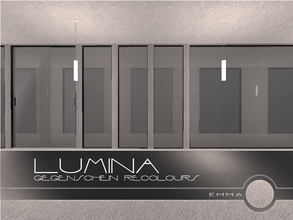 Sims 2 — Lumina: Gegenschein Recolours by Emma_O — a set of recolours for the Lumina collection.