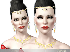 Sims 3 — Female ModeL-53 [Young Adult]  by TugmeL — Young Adult Female Model Created this design EP: Sims-3 Late