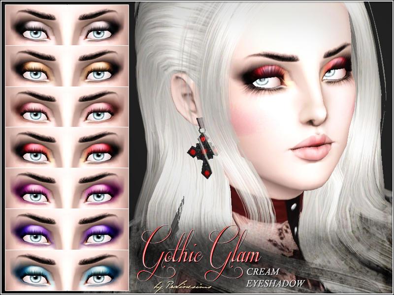 Pralinesims Gothic Glam Cream Eyeshadow