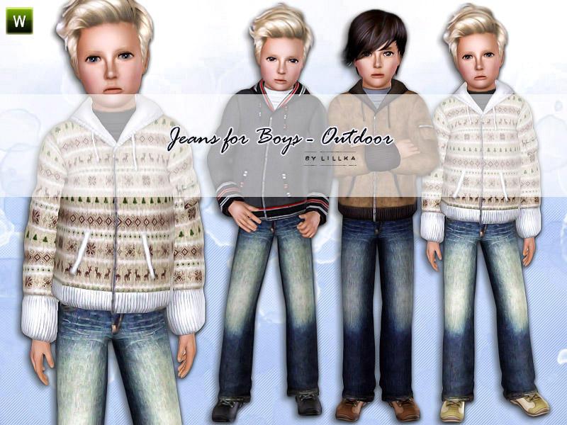 Výsledek obrázku pro the sims 3 jeans child boy