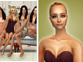 Sims 2 — Ashley Benson as Hanna Marin by Cleotopia — Ashley Benson as Hanna Marin starring in Pretty little liars