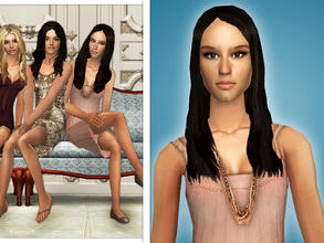 Sims 2 — Troian Bellisario as Spencer Hastings by Cleotopia — Troian Bellisario as Spencer Hastings in Pretty Little
