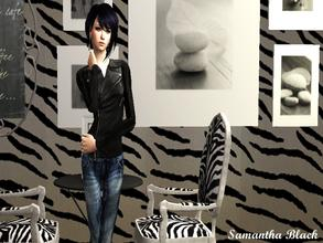 "Sims 2 — Samantha Black by naninuneno252 — Samantha ""Sam\"" is a biker. She love danger, she love adventure and"