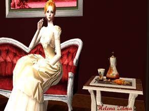Sims 2 — Helena Zelma by naninuneno252 — Helena is a victorian girl. She loves gardening because she really likes