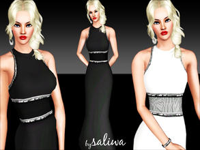 Sims 3 — Helena Coctail Dress by saliwa — Very elegant and feminen dress for your fashionista sims. Enjoy.