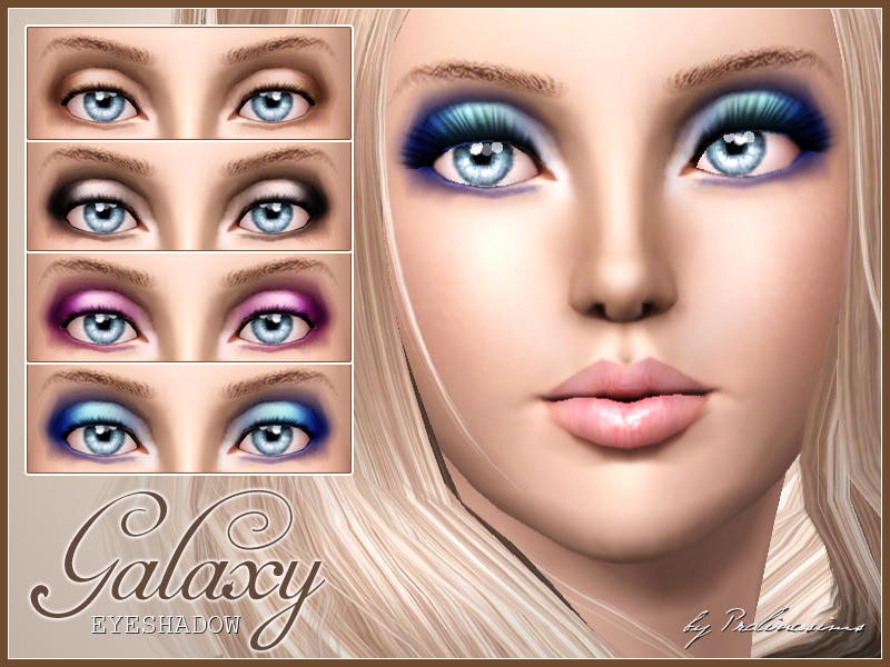Pralinesims' Galaxy Eyeshadow
