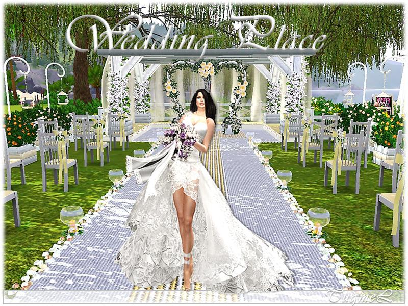 Wedding Decoration: Decorate Wedding Venue Sims 3