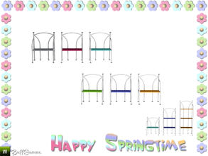 Sims 3 — Happy Springtime Shelf 3 by BuffSumm — Decorative Set to bring the spring back :)