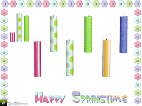 Sims 3 — Happy Springtime Candle 3 by BuffSumm — Decorative Set to bring the spring back :)