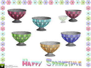 Sims 3 — Happy Springtime Vase 4 by BuffSumm — Decorative Set to bring the spring back :)