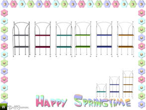 Sims 3 — Happy Springtime Shelf 2 by BuffSumm — Decorative Set to bring the spring back :)