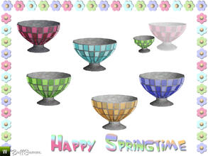 Sims 3 — Happy Springtime Vase 3 by BuffSumm — Decorative Set to bring the spring back :)