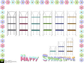 Sims 3 — Happy Springtime Shelf by BuffSumm — Decorative Set to bring the spring back :)