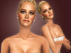 Sims 2 — Jennifer Lawrence by Cleotopia — The beautiful American Actress, Jennifer Lawrence (1990) best known for her