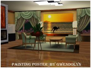 Sims 3 — GW_poster_Australia by Gvendolin2 — This colorful poster will introduce you to the unique nature of Australia