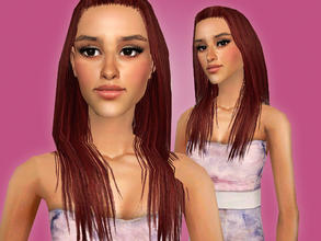 Sims 2 — Ariana Grande by Cleotopia — Ariana Grande (1993) the adorable American Teen Star. Best known for her singing