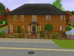 Sims 3 — Malibu Sunset 305 *unfurnished* by Silerna — I once had a simple house in the sims 2. Very simple but still it