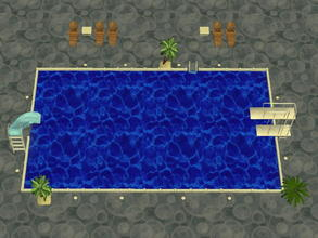 Sims 2 — Soakability Terrain Set - 2 by zaligelover2 — Water terrain. Sims will not swim, but walk upon the ground as if