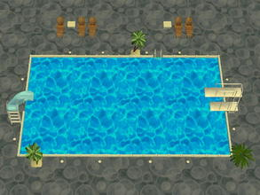 Sims 2 — Soakability Terrain Set - 4 by zaligelover2 — Water terrain. Sims will not swim, but walk upon the ground as if