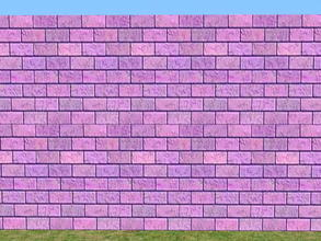 Sims 2 — Skybrick Walls - bud by zaligelover2 — Bricks for walls.