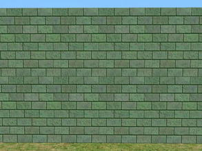 Sims 2 — Skybrick Walls - evergreen by zaligelover2 — Bricks for walls.