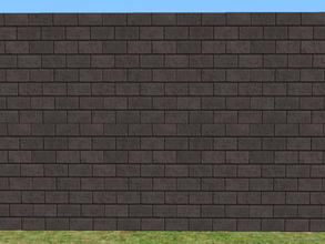 Sims 2 — Skybrick Walls - darkness by zaligelover2 — Bricks for walls.