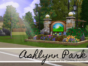 Sims 3 — Ashlynn Park by sims_freak_2008 — This park offers beauty and serenity for sims. Whether it be playing chess,