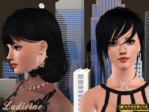 Sims 3 — Ludivine Harrys by Canelline — This Sims, Ludivine, was made in a game with the following EP: World Adventures,