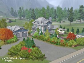 Sims 3 — 7 Old Park Lane  by ung999 — Surrounded by natural parklands this beautiful home has a small ranch with 2