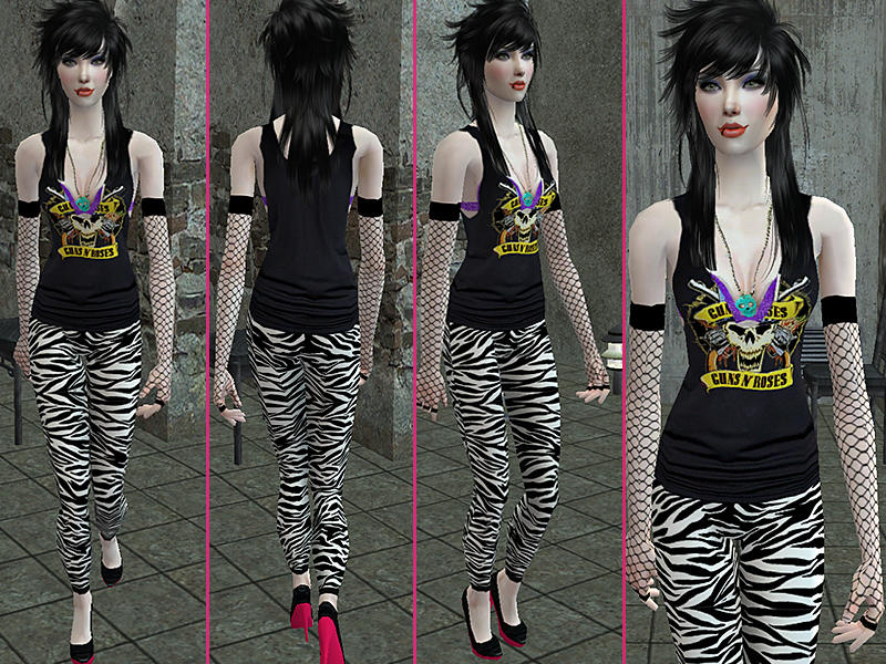 39 S Heavy Metal Glam Collection Guns N 39 Roses In 80 39 S Style