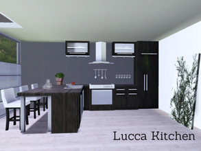 Sims 3 — Lucca Kitchen by Angela — Here is the start of my new series, the Lucca Kitchen. Set contains: Counter, Island,