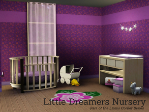 Sims 3 — Little dreamers nursery by Angela — Little dreamers nursery as part of the Liams Corner series. Set contains: