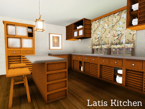 Sims 3 — Latis Kitchen by Angela — The Finale Set for the Latis Series.. The Latis Kitchen. This set contains no