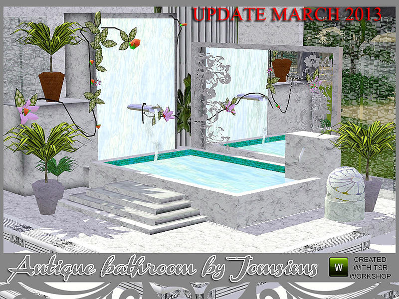 Jomsims Antique Bathroom Revision
