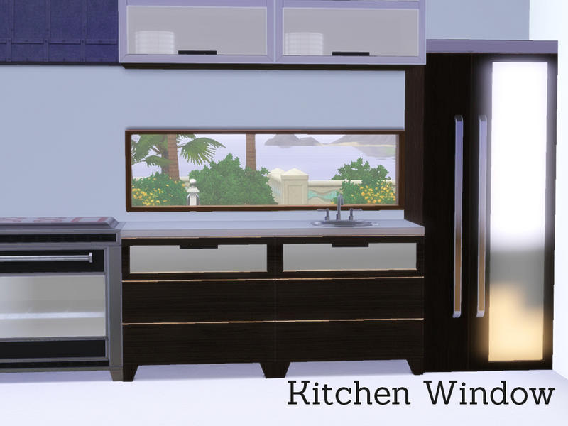 Angela S Modern Kitchen Window